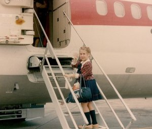 My first flight: Solo at six years old